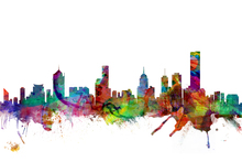 Canvas print - Melbourne Skyline