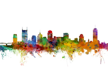 Wall mural - Nashville Tennessee Skyline