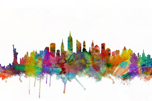 Canvas print - New York Skyline 2