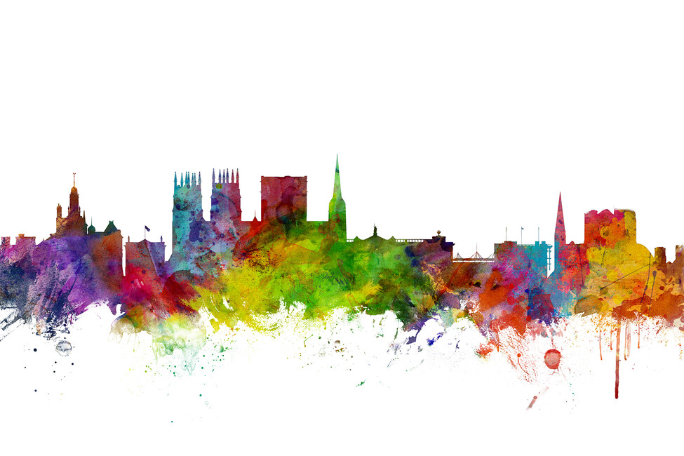 York England Skyline Wall Mural Amp Photo Wallpaper