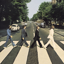 Fototapet - Beatles - Abbey Road Vintage
