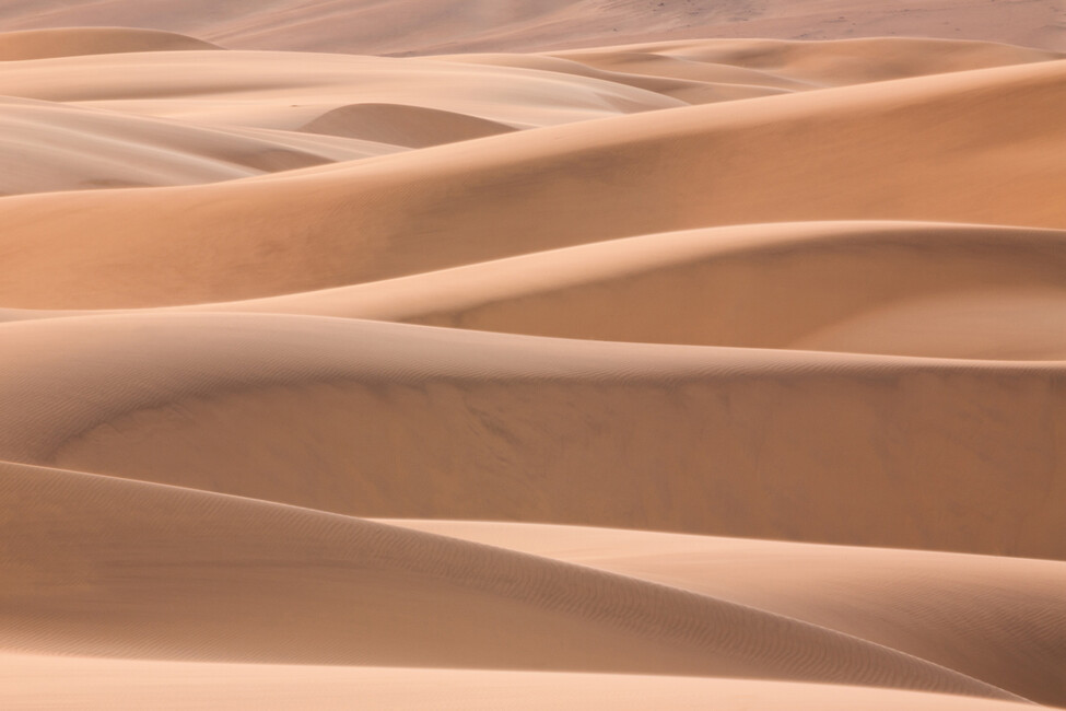 Dunes of the desert wall mural photo wallpaper photowall for Desert mural wallpaper