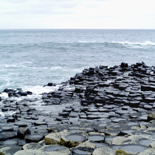 Canvastavla - Giants Causeway in Antrim
