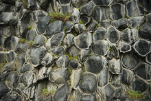 Fototapet - Honeycomb Patterned Basalt Columns