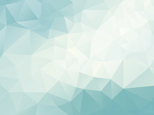 Fototapet - Ice Blue Polygonal