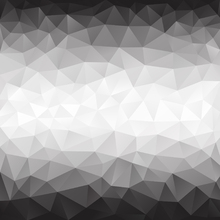 Wall mural - Polygonal Grey Shades