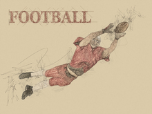 Canvas print - Football