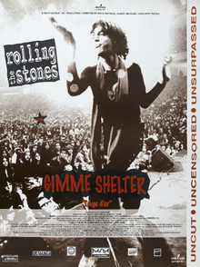 Canvas print - Gimme Shelter