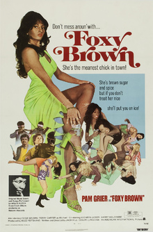Leinwandbild - Movie Poster Foxy Brown