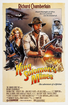 Canvas print - Movie Poster King Solomon´s Mines