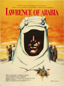 Canvas print - Movie Poster Lawrence of Arabia