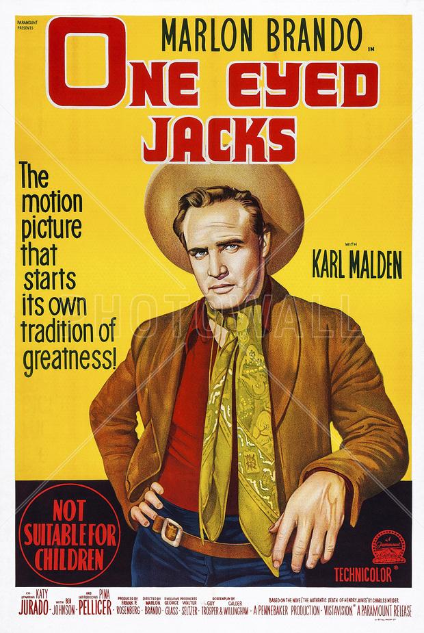 movie poster one eyed jacks fototapeter amp tapeter