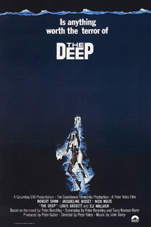 Leinwandbild - Movie Poster The Deep