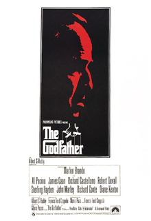 Canvas print - Movie Poster The Godfather