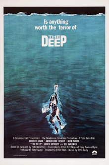 Canvas print - Movie Poster The Terror of The Deep