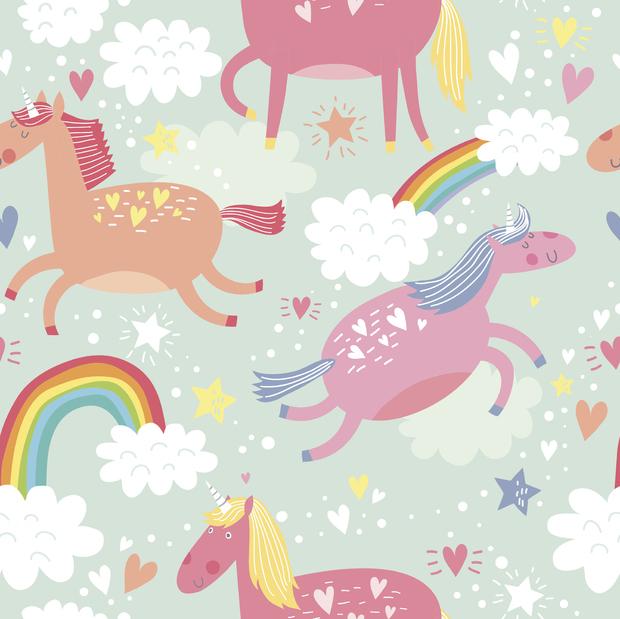 unicorn wall mural photo wallpaper photowall