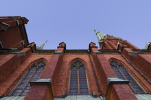 Canvas print - Architectural Details of Johannes Kyrka