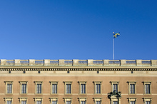 Canvas print - Details of Stockholm Palace