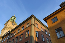 Fototapet - Stockholm's Old Town Close Up Shot