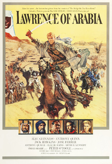 Canvas print - Poster Art Lawrence of Arabia
