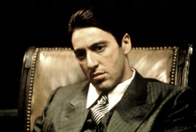 Canvas print - The Godfather - Michael Corleone