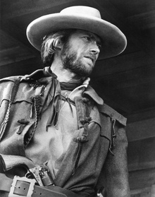 Leinwandbild - The Outlaw Josey Wales - Grey scale