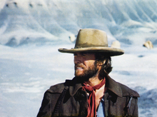 Canvastavla - The Outlaw Josey Wales - Winter Sun