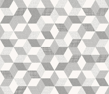 Wallpaper - Polygon Off White