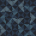 Wallpaper - Triangle Brush Blue