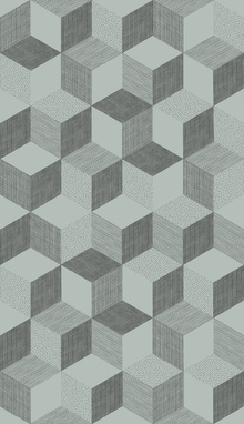 Wallpaper - Hexagon Mint