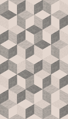 Wallpaper - Hexagon Nude