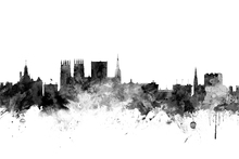 Wall Mural - York UK Skyline Black