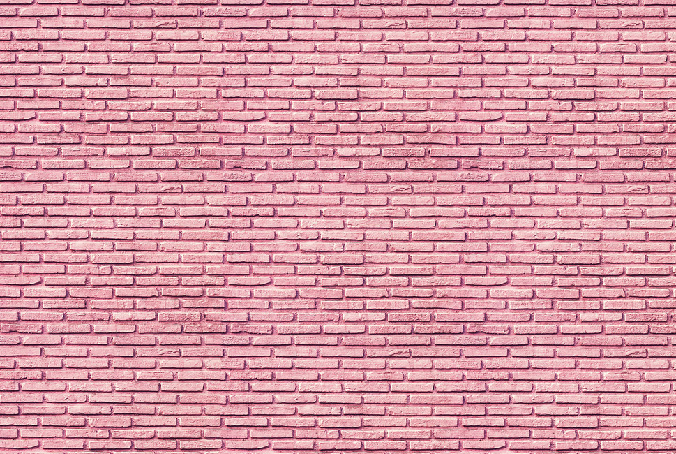Bubble Gum Brick Wall