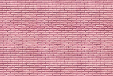 Wall mural - Bubble Gum Brick Wall