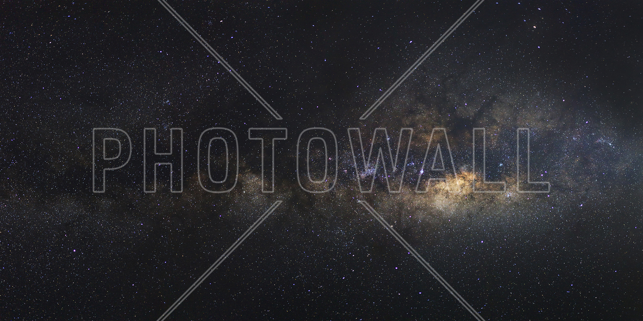 Milky Way Galaxy - Long Exposure