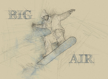 Canvas print - Big Air