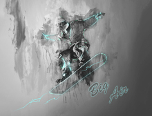 Wall Mural - Big Air 2