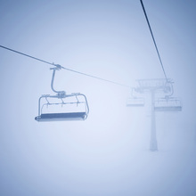 Canvas print - Ski Lifts