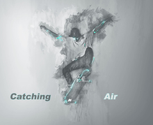 Wall mural - Catching Air