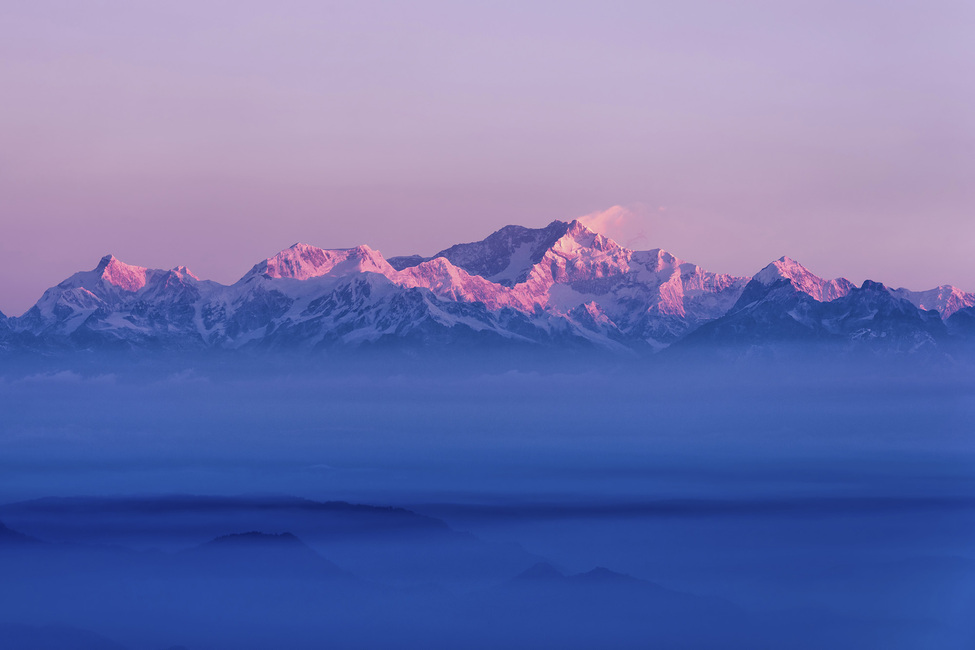 Kangchenjunga Sunrise Canvas Print Amp Canvas Art Photowall