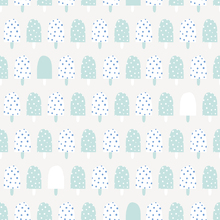 Wallpaper - Ice Cream Turquoise
