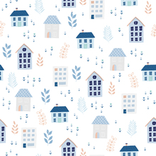 Wallpaper - Neighborhood Blue