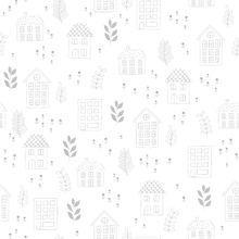 Wallpaper - Neighborhood Grey