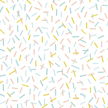 Tapet - Sprinkles Yellow