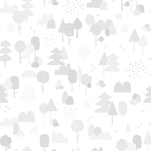 Wallpaper - Woods Grey