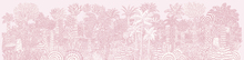 Wall Mural - Jungle Pink