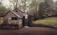Wall mural - Mabry Mill