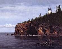 Canvas print - Owl's Head Light