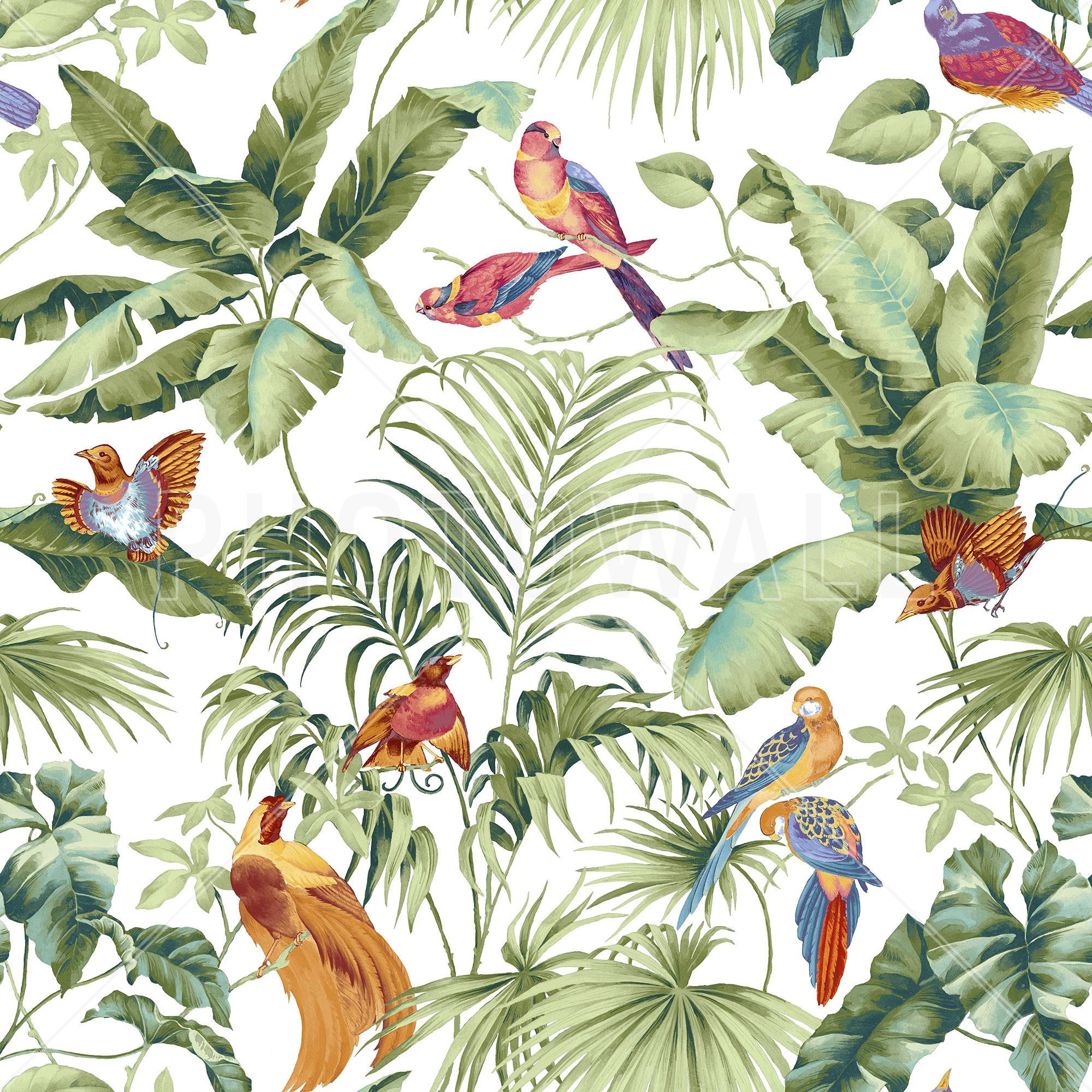 Jungle Canopy 2 Spring  sc 1 st  Photowall.com & Jungle Canopy 2 Spring - Wall Mural u0026 Photo Wallpaper - Photowall