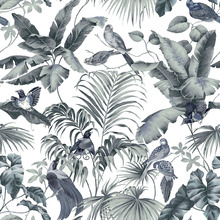 Tapisserie - Jungle Canopy 2 Steel Gray
